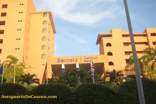 Hotel Barcelo en Cancun